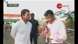 Watch Zee News exclusive conversation with Rahul Gandhi