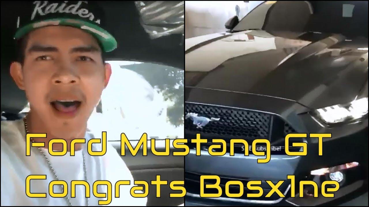 Mark Maglasan Bosx1ne Finally Got His Ford Mustang Gt 5 0