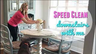SPEED CLEAN WITH ME // MAJOR CLEANING MOTIVATION // MY FAVORITE CLEANING PRODUCTS
