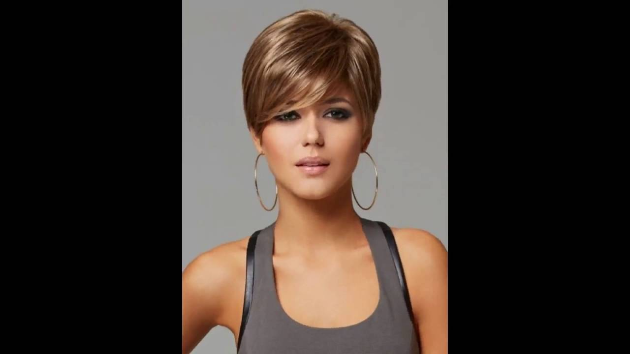 30 Haircut Inspirations For 2019: 30 Short Hairstyles With Bangs Thick Hair