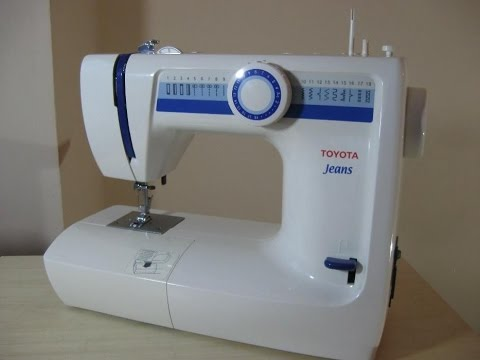 toyota jeans n hmaschine sewing machine. Black Bedroom Furniture Sets. Home Design Ideas
