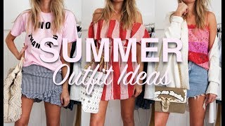 SUMMER OUTFIT IDEAS | TRY ON | SINEAD CROWE