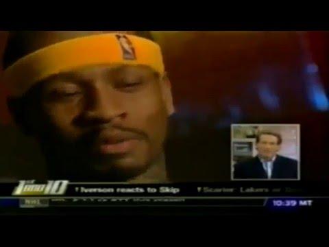 Skip Bayless hates Allen Iverson (2008)