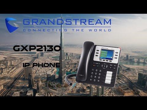Grandstream GXP2130  V2 IP Phone for Office in Dubai | Best IP Telephony