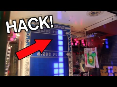 how to beat stacker arcade game