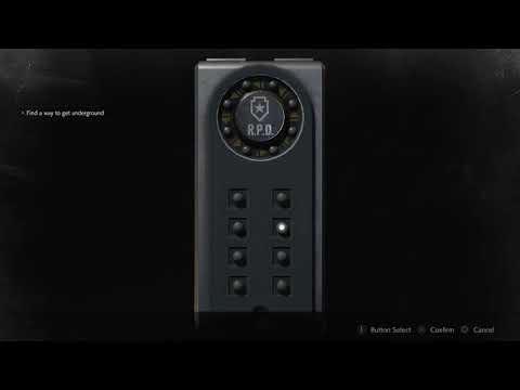 Resident Evil 2 Portable Safe Combination Guide