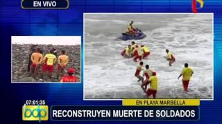 Baixar Magdalena: reconstrucción de tragedia donde murieron ahogados cuatro militares