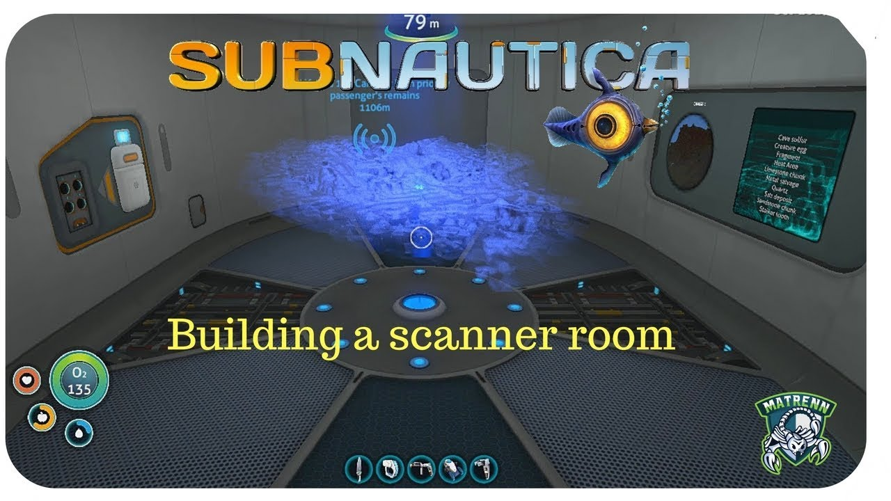 Subnautica Scanner Room Not Showing Everything / This video will show you how to attach a scanner room to your main base in subnautica created with movie studio platinum.