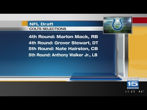 Colts emphasize defense on final day of the NFL Draft