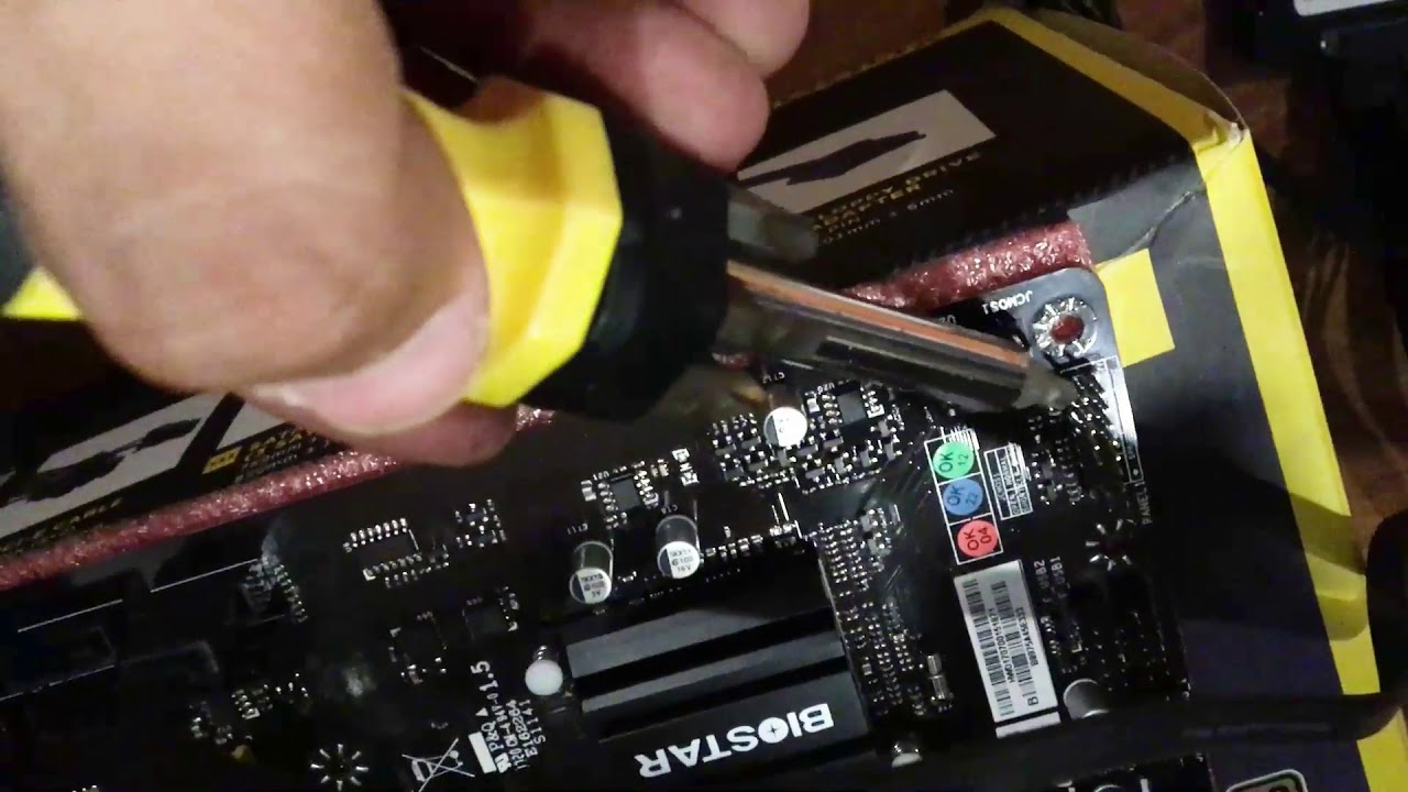 How To Power On Your Motherboard Without A Button Using Atx Switching Auxiliary Supply Maintenance Circuit Diagram Screwdriver
