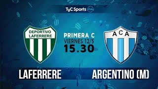 Laferrere vs Argentino de Merlo full match