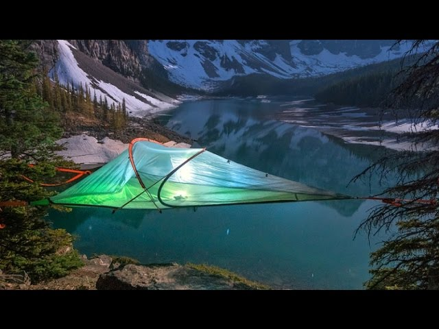 700f3a1e7 Elevate your camping experience and get high with a suspended tent ...