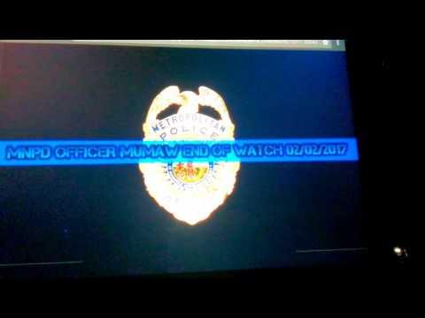 MNPD OFFICER MUMAW FINAL CALL 2/2/2017 4:43am