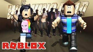 OS ZUMBIS DO THE WALKING DEAD! - Roblox (Universal Studios Roblox)