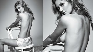 Toni Garrn Hot Topless Photohoot For GQ Dec. 2014