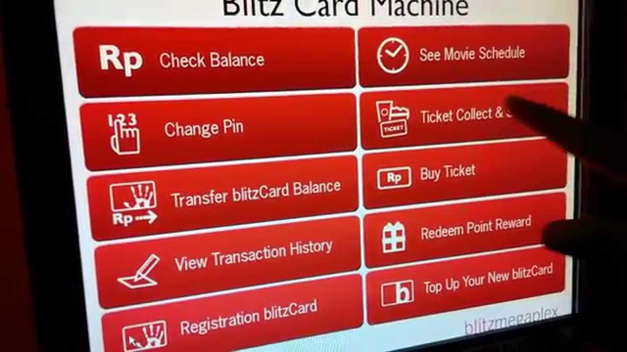 Cara Cetak Tiket Dengan Blitz Card Machine Youtube