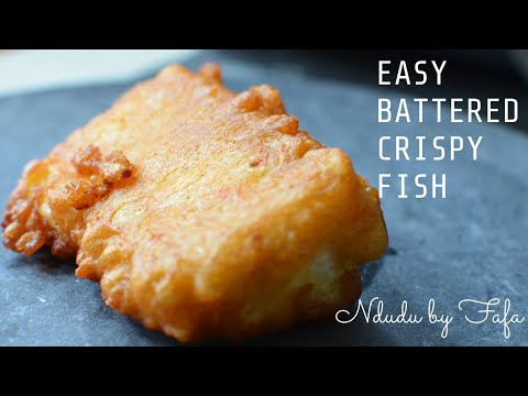 HOW TO PREPARE THE PERFECT BEER BATTERED FISH (A POPULAR ENGLISH DISH)