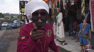 Rastafarian Greet Advise Show Team In Ethiopia