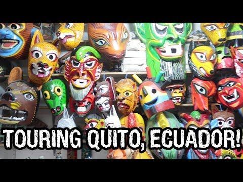 Touring Quito, Ecuador - Markets And The Equator! - Dāv Kaufman Vlogs