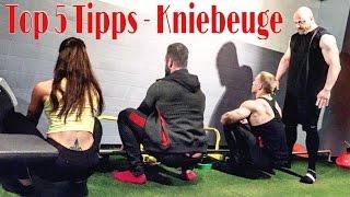 Top 5 Tipps für Kniebeuge - Warmup & Mobility Routine