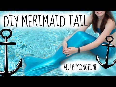 Diy Swimmable Mermaid