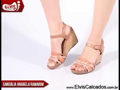 4ef8b7918 Sandália Anabela Média Ramarim Total Comfort 14-12205 - YouTube