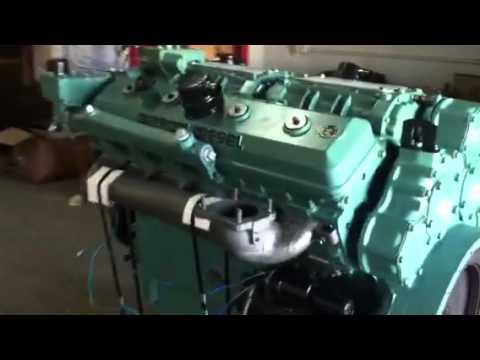 Test Detroit V12-71 pro diesel