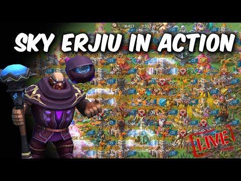 Let's Watch Emperor Sky Erjiu & Sugarkane In Action| Live Lords Mobile