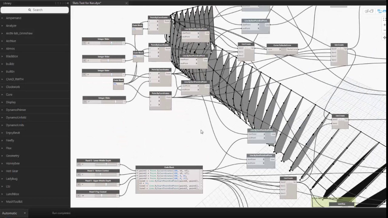 Dynamo NEXT - S2E1 - Generative Design