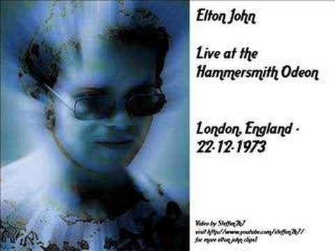 Elton John - Bennie and the jets(Live Hammersmith Odeon1973)