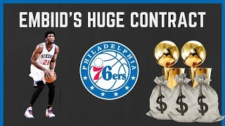 Is joel embiid's max contract extension the riskiest move in nba history?