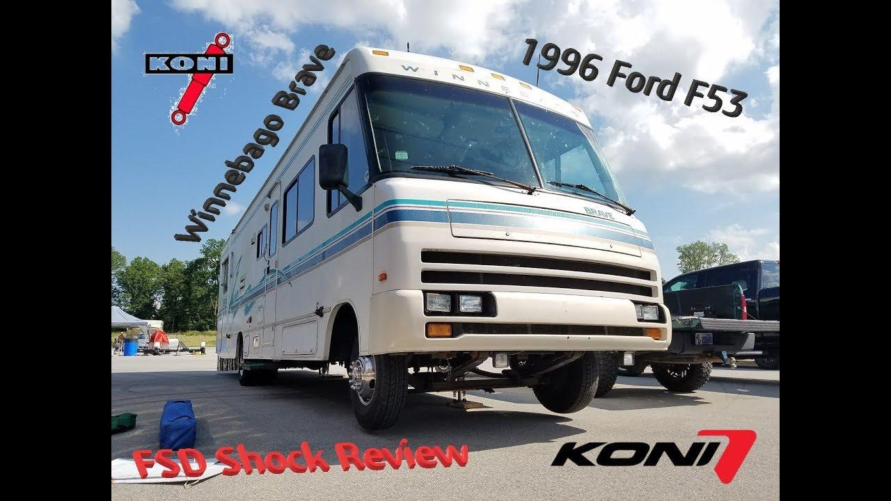 small resolution of koni fsd rv shocks review 1996 winnebago brave ford f53