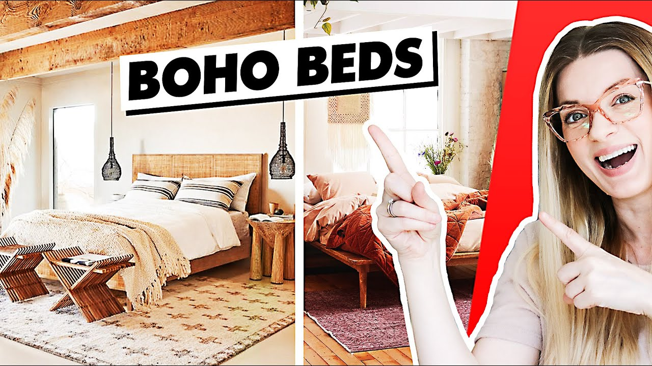 The Best Affordable Boho Beds and Headboards Rattan and Wood ...