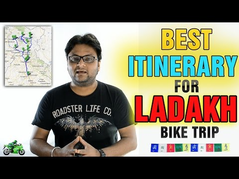 Ladakh Itinerary | Best Route Plan | By Road |
