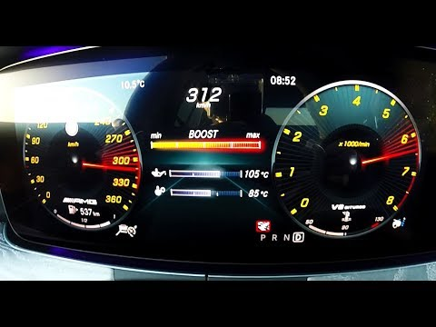 0-312 : New Mercedes-AMG GT 63 S Acceleration Top Speed (2019)