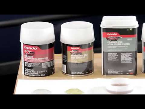 Types of Bondo Filler VIDEO