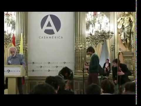 Presentación de La voragine de José Eustasio Rivera en la Casa de América de Madrid