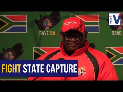 WATCH: Poverty and unemployment are examples of state capture says Vavi