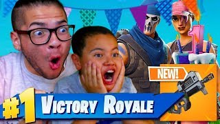 *NEW* COMPACT SMG MIGHT GET ME BANNED! *NEW* SKINS FORTNITE: BATTLE ROYALE! HAPPY BIRTHDAY FORTNITE!