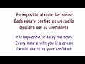CNCO - Reggaetón Lento Lyrics English and Spanish - Translation & Meaning
