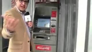 Nueva forma de robar en cajeros de Banorte