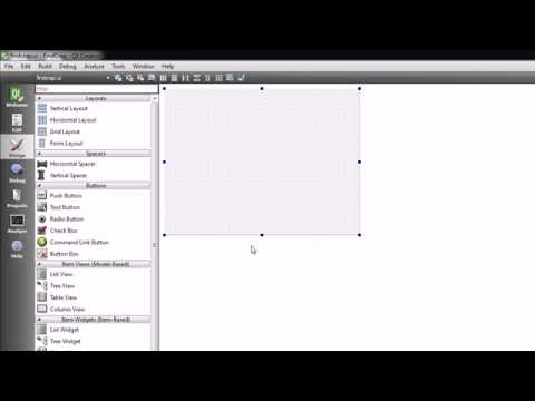 C++ GUI with Qt Tutorial - 9 - Creating a Useful Program