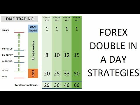 Overview of FOREX Double in a Day technique and risk strategies