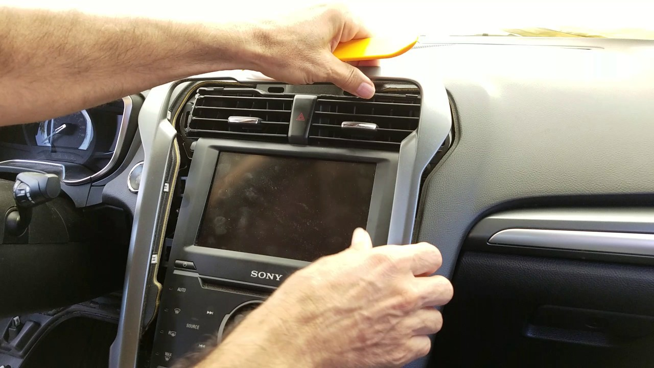 How To Remove Radio Navigation Display From Ford