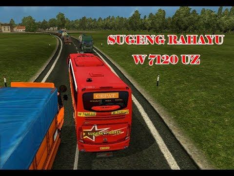 ETS2 - Sugeng Rahayu Jam Mepet Kejar setoran W 7120 UZ #1