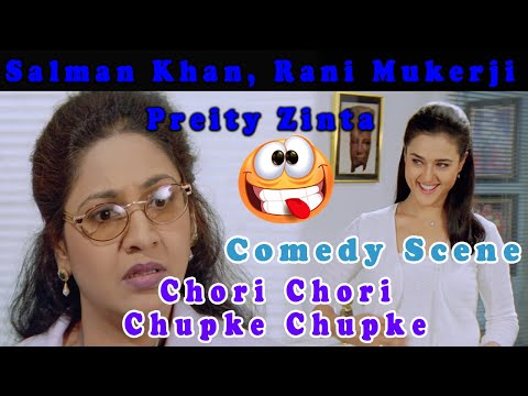 Confuse Doctor | Comedy Scene | Chori Chori Chup Ke Chup Ke | Blockbuster Hindi Movie