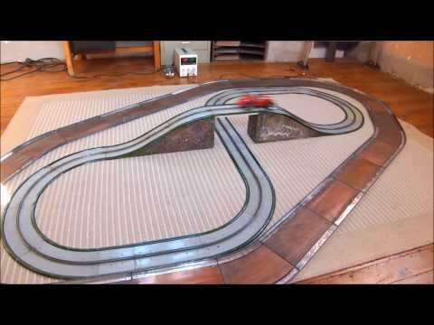 Auto-Route LR Louis Roussy contre Autobahn Marklin 13301-  Slot car jouet – toys