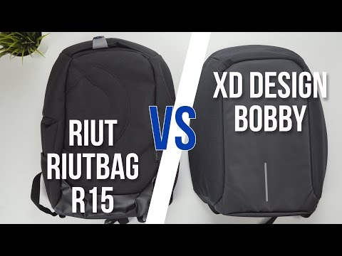 RiutBag R15 vs Bobby Backpack | Comparison