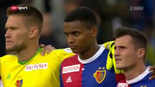 Fc Basel Vs Gc 3:2  10.08.2017  Highlights Srf Sport