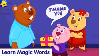 Magic Words Song For Kids | Learn to Say Please, Sorry, Thank You | Good Habits for Kids | KidloLand